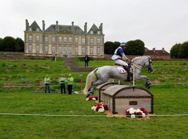Le cavalier français Rodolphe Scherer et sa jument Makara de Montiège — © Le Journal des animaux