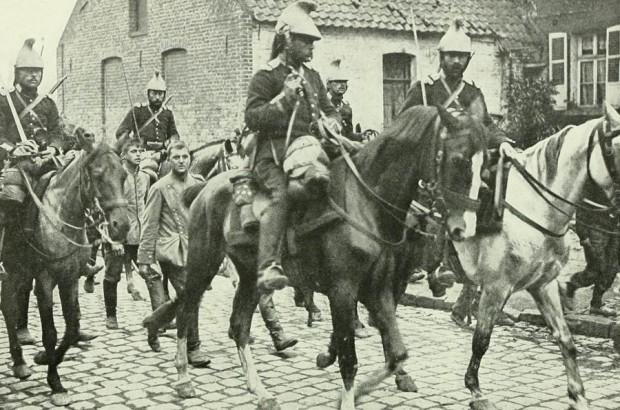 Chevaux de la cavalerie française