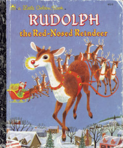 Rudolph the Red-Nosed Reindeer, illustré par Richard Scarry / CC BY-NC-SA 2.0